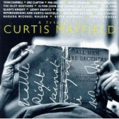 CD art Tribute To Curtis Mayfield with Clapton, Elton John, B.B. King, Aretha