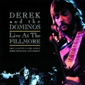CD art for Derek and The Dominos - Live At The Fillmore (Eric Clapton)