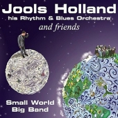 CD art Jools Holland and Friends Small World Big Band Clapton Harrison
