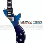CD art for Les Paul and Friends - American Made World Played (with Eric Clapton)