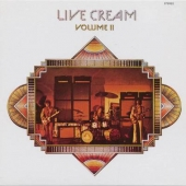 album cd art Cream Live Cream Volume II (Clapton, Baker, Bruce)