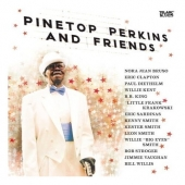 cd album art track list Pinetop Perkins and Friends Eric Clapton BB King