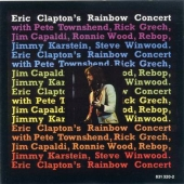 album cd art for original release of Eric Clapton's Rainbow Concert (1973)