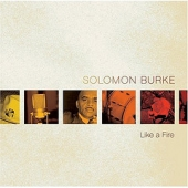 CD Artwork for Solomon Burke - Like A Fire