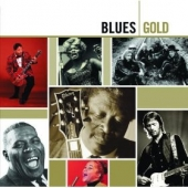 album art for CD Blues: Gold (featuring Clapton, Waters, Hooker, Guy, BB King)