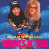 cd album art Wayne's World Soundtrack, Queen, Eric Clapton, Black Sabbath