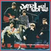 CD art for Yardbirds Greatest Hits Volume 1 (Eric Clapton, Jeff Beck)