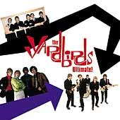 CD art for The Yardbirds Ultimate (Eric Clapton, Jeff Beck)