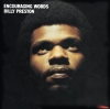 Billy Preston album art for Encouraging Words, features Eric Clapton, Harrison