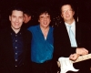 Jools Holland, Bobby Whitlock, Eric Clapton - April 2000 (Photo: Where's Eric!)