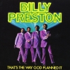 Billy Preston art for That's The Way God Planned It with Clapton, Harrison