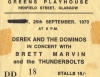 Derek And The Dominos UK Tour Ticket (Courtesy: Tom McCleary)